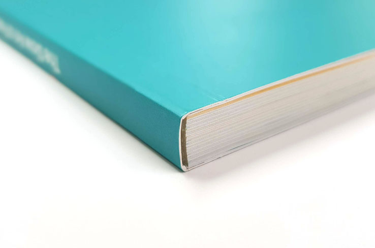 Wakefields Digital perfect bound book