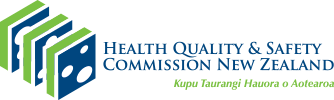Health Quality & Safety Commission New Zealand logo