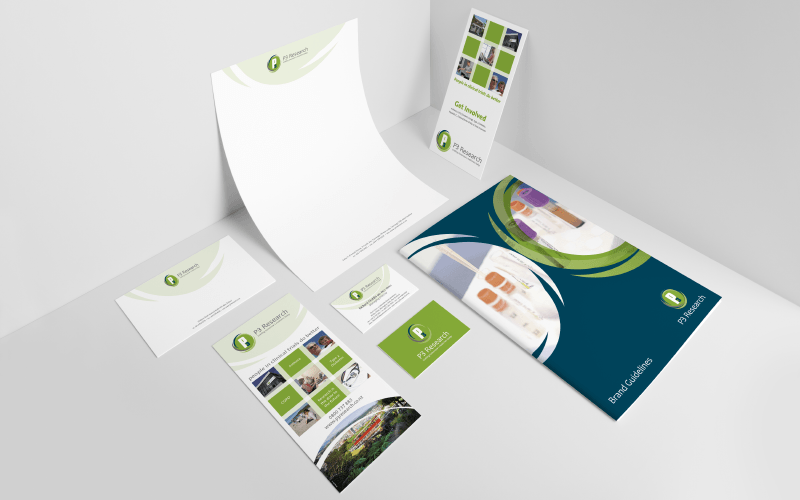 Printed corporate stationary