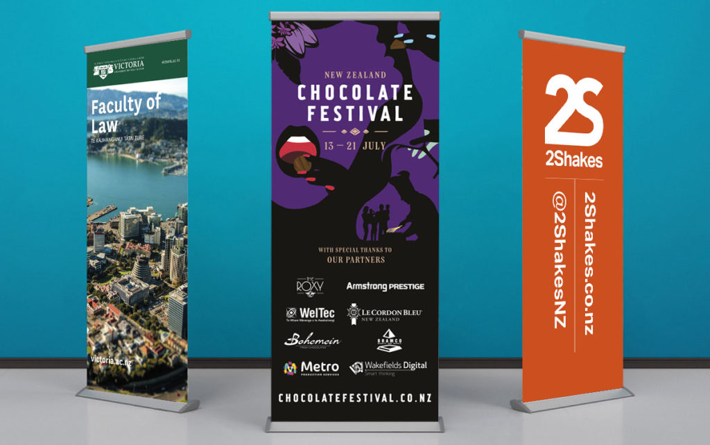 Display Digitally Printed Pull up banners