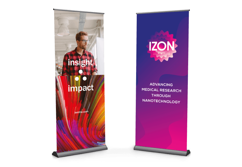 Poster & Display Printing Pull-Up-Banners