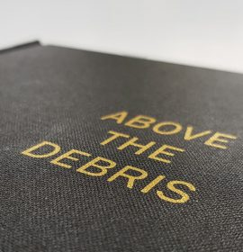 Foiling on Thesis bound book