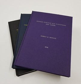 Thesis bound books