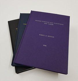 Thesis bound books